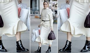 LOOK OF THE DAY: Olivia Palermo i black and white