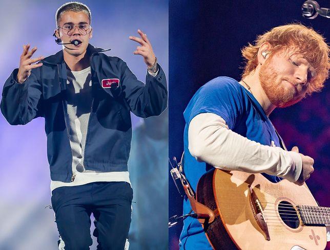 """Ed Sheeran i Justin Bieber ze wspólnym utworem. """"I Don't Care"""" może być hitem lata"""