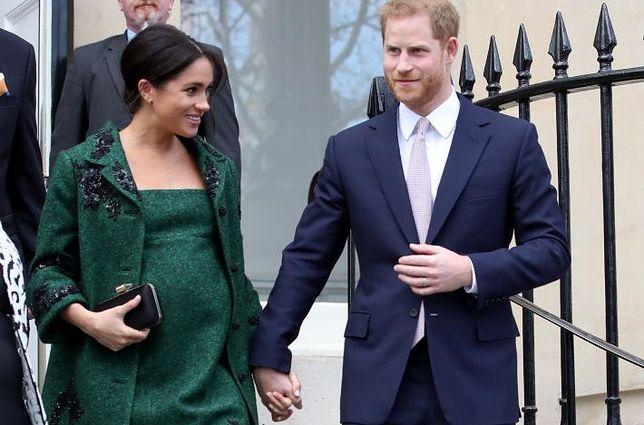 Meghan i Harry jako przyszli rodzice muszą przestrzegać ścisłych reguł