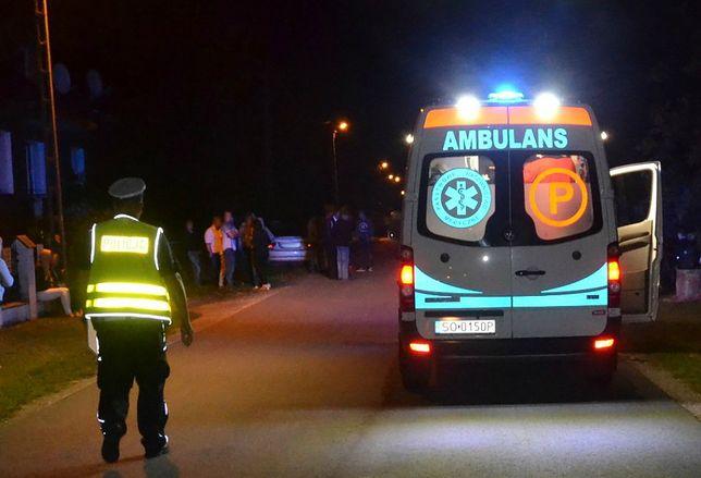 Po wypadku w Koryczanach ludzie wybiegli z domów