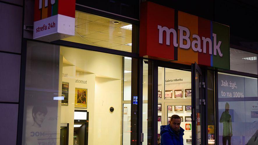 mBank zapowiada krótką przerwę techniczną (fot. Getty Images)