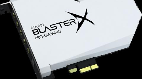 Creative Sound BlasterX AE-5 Plus Pure Edition. Takiej karty jeszcze nie było