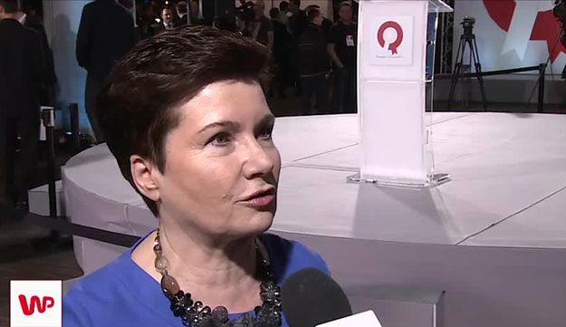 Hanna Gronkiewicz-Waltz komentuje wynik wyborczy