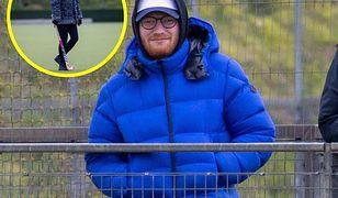 Ed Sheeran kibicuje drużynie żony