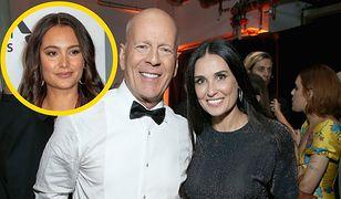Demi Moore i Bruce Willis spędzają razem kwarantannę. Żony Willisa tam nie ma