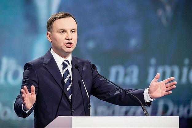 Andrzej Duda: przyjście na debatę to wyraz szacunku dla wyborców, Komorowski zachowuje się dziwnie