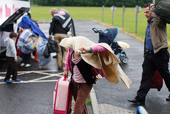 Imigranci uciekają z Belfastu po rasistowskim ataku