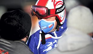 Prezydent Andrzej Duda na zawodach narciarskich w Zakopanem