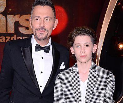 Krzysztof Ibisz z synem Vincentem