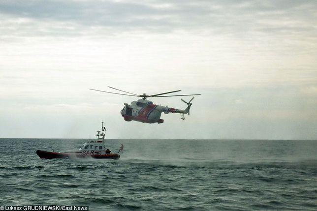 Zaginionych poszukiwały także jednostki Straży Granicznej oraz Lotnictwo Marynarki Wojennej
