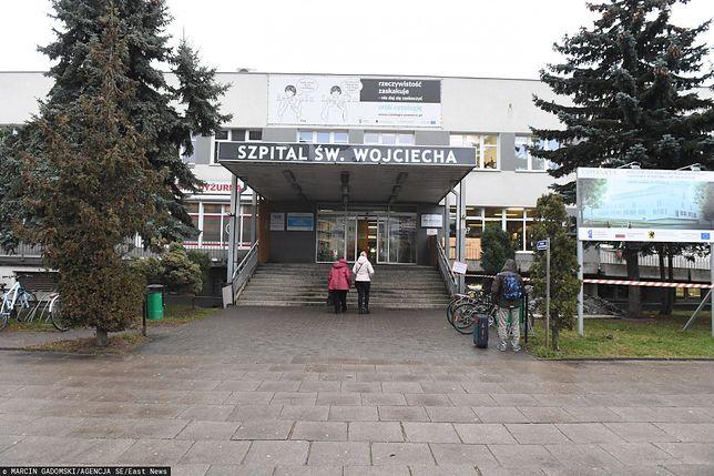 Koronawirus w Gdańsku. Szpital na Zaspie.