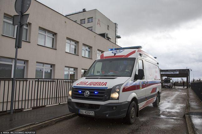 Łódź. Policja wyjaśnia okoliczności zdarzenia.