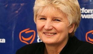 Była posłanka PO Bożena Sławiak dorabia w Niemczech do emerytury