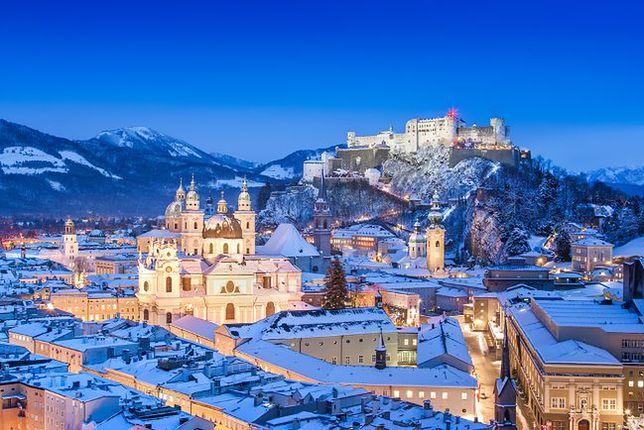 Atrakcje Austrii - Salzburg