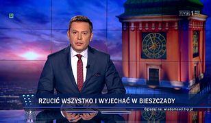 """W """"Wiadomościach"""" znalazł się czas na materiał o wypasaniu owiec, zabrakło go na poinformowanie o tragedii w Stalowej Woli."""