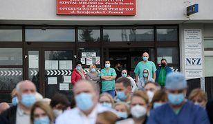 Szpital w Poznaniu reaguje na materiał TVN