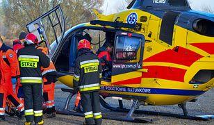 Śląskie. 14-latek spadł z wyciągu krzesełkowego. Trafił do szpitala
