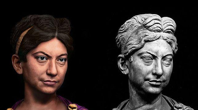 Alessandro Tomasi, rekonstrukcja twarzy Zenobii, władczyni Palmyry