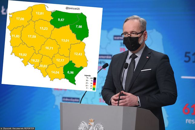 Luzowanie obostrzeń. Polska jest już poniżej wskaźnika zakażeń, przy którym minister zdrowia zgodziłby się na likwidację obowiązku noszenia maseczek
