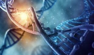 Wizualizacja kodu DNA