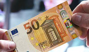 Nowy banknot 50 euro wszedł do obiegu. Będzie trudno go podrobić