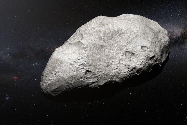Asteroida w jakiś tajemniczy sposób znalazła się na krańcach układu