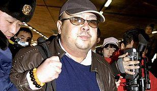 Kim Dzong Nam na lotnisku w Pekinie - zdjęcie z 2007 roku