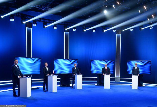 Wybory parlamentarne. Odbyła się pierwsza debata kandydatów wszystkich komitetów
