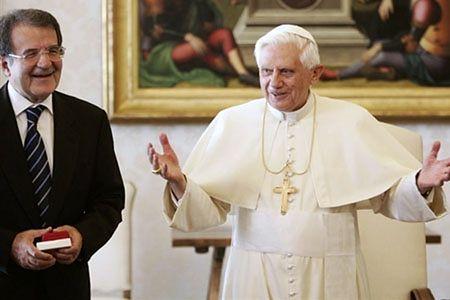 Benedykt XVI przyjął premiera Włoch