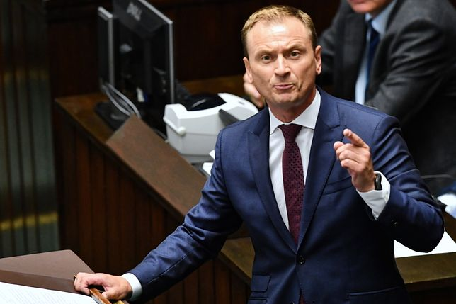 Sławomir Nitras uważa, że minister Marek Gróbarczyk posunął się za daleko