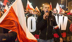 Jacek Międlar na ubiegłorocznym marszu we Wrocławiu