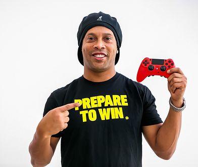 """Ronaldinho jako """"trener"""" e-sportu"""