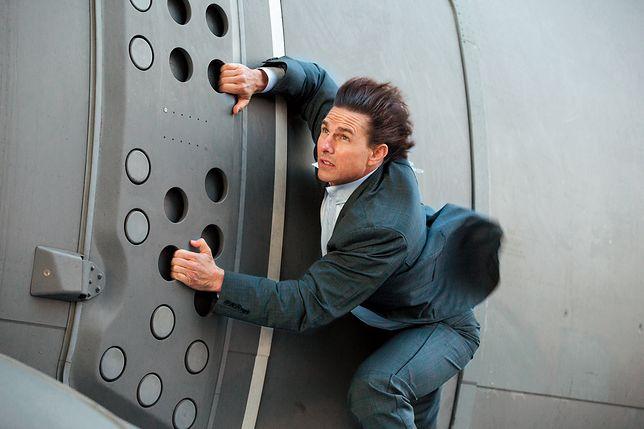 "Tom Cruise na planie filmu ""Mission Impossible 5"""