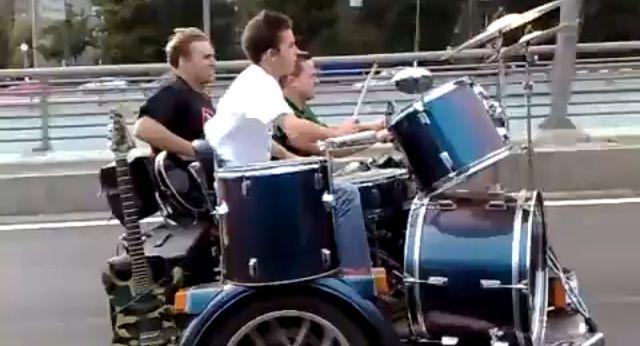 Muzyka na motocyklu
