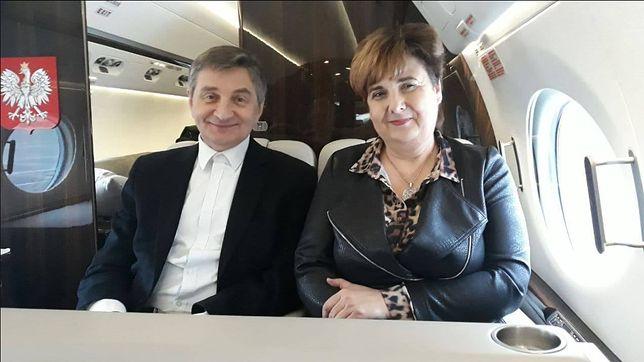 """Poza tym, że """"wylot był służbowy"""", kancelaria Sejmu nie wyjaśniła celu podróży do Rzeszowa"""