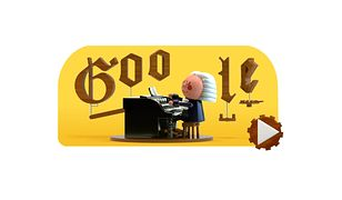 Jan Sebastian Bach bohaterem Google Doodle.