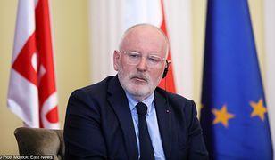 Frans Timmermans walczy o fotel szefa Komisji Europejskiej