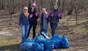 Dziewczyny podjęły wyzwanie Trash Challenge