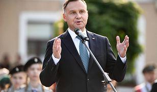 Prezydent Andrzej Duda najbardziej ucieszył się z wysokiej frekwencji