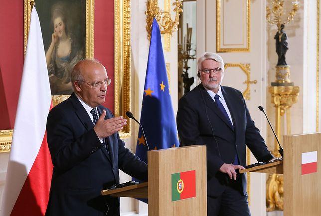 Augusto Santos Silva i Witold Waszczykowski