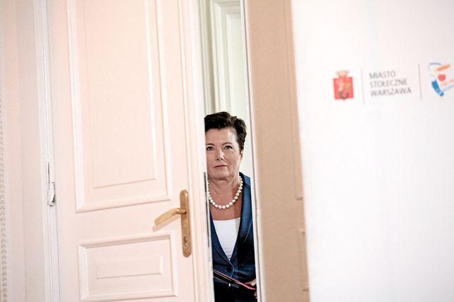Z aferą reprywatyzacyjną najbardziej kojarzone jest nazwisko prezydent Warszawy