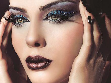 Sylwestrowy makijaż glam grunge