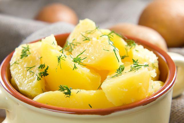 Ugotowane ziemniaki jako baza