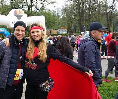 Anna Guzik z ciążowym Brzuszkiem