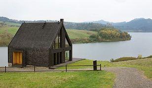 Niezwykły dom z widokiem na Jezioro Czorsztyńskie