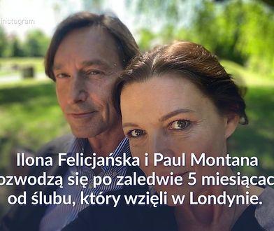 Ilona Felicjańska rozwodzi się. Nie zamierza walczyć o męża