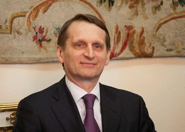 Siergiej Naryszkin wspomina 1934 rok