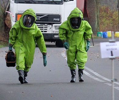Ładunek sprawdzili strażacy z jednostki ratownictwa chemicznego (zdj. ilustracyjne)