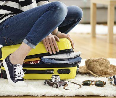 Odpowiednia, nieduża walizka może być bardzo pakowna