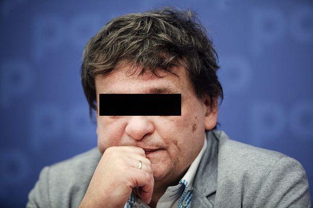Żona Piotra T. przyjechała go bronić. Jest oskarżony o posiadanie pornografii dziecięcej